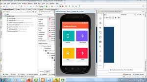 Android Dashboard Design Xml Dashboard Design In Android Studio Using Cardview Tutorial