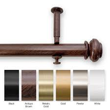 li update your home decor with a new decorative curtain rod set
