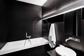 Bathroom : Sensational Black Bathrooms Images Concept White And ...