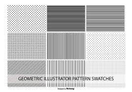 Illustrator Pattern Swatches Extraordinary Geometric Vector Pattern Swatches Download Free Vector Art Stock