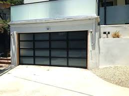 all glass garage door prettier with black frame install by tony s insulated doors for garage smoked glass doors