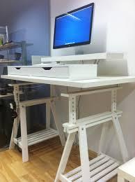 corner desk ikea hack. Exellent Desk Corner U0026 Extra Tall Standing Desks  IKEA Hackers To Desk Ikea Hack I