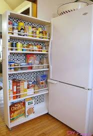 diy kitchen pantry organization captivating kitchen pantry ideas of space saving rolling