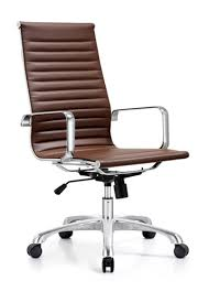 joplin contemporary brown leather desk chair by woodstock brown leather office chair