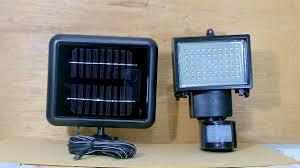 Solar Security Light Item 69643 Solar Powered Motion Security Light 60 Leds