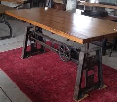 zak brown tablejpg chic industrial furniture