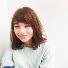 オフィス 前髪あり ミディアムjoemi By Unami 新宿内田航 柔らか