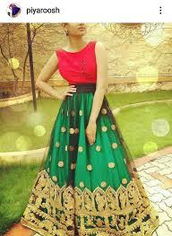 Designer Lehenga Facebook Wow Stylish Red Top With Traditional Bridal Lehenga Perfect