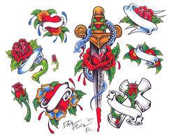 женские эскизы тату ньюскул студия художественной татуировки Pro