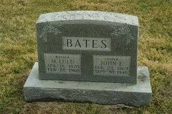 "Martha Lucinda ""Lula"" Mitts Bates (1870-1960) - Find A Grave Memorial"
