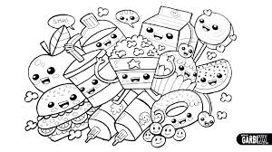 Num Noms Coloring Pages Better Coloring Pages Book With Unique And