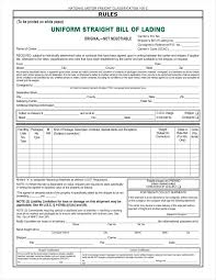 sample bol 29 bill of lading templates free word pdf excel format