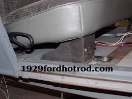 1929 ford seat installation 1929fordhotrod com 1929 ford roadster hot rod seat installation picture 9
