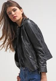 women jackets calvin klein jeans aurala leather jacket black calvin klein jeans sweater