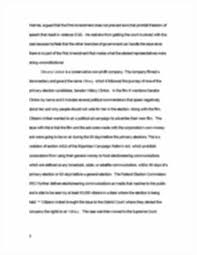 citizens united judicial restraint vs judicial activism essay image of page 3