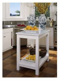 Delightful Marble Top Kitchen Island Cart Design