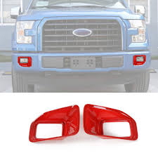 Ford F150 Light Covers Amazon Com Car Front Fog Light Lamp Decoration Cover Trim