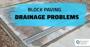 block paving drainage problems and