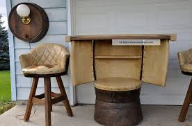 tub chairs vintage armchair funky armchairs chairs made out of barrels brown tub chair tables made from whiskey barrels side