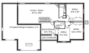 basement floor plans. Basement House Plans Ranch Homes And More Floor Set H