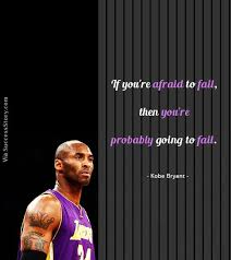 Quotes About Basketball Inspiration 48 Best Motivational Quotes From Basketball Player Kobe Bryant