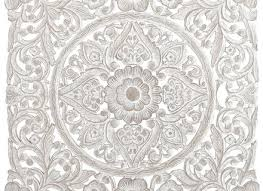 white carved wall decor pier 1 imports