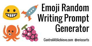 control alt achieve emoji writing prompt generator google sheets emoji writing prompt generator google sheets