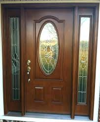 wooden front doors with glass wooden front doors with glass wood exterior wooden doors with stained