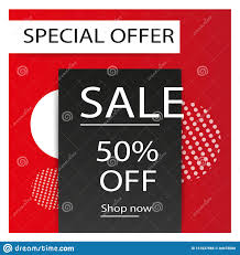 Sale Banner Template Design Big Sale Special Offer Special