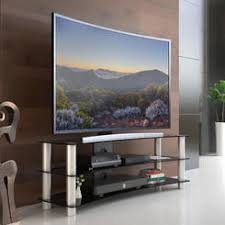 samsung flat screen tv on wall. fitueyes 3-tier curved tv stand with tempered glass for 32 to 55 inch flat samsung screen tv on wall