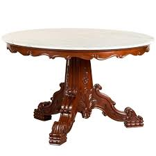 antique marble table antique anglo indian or british colonial mahogany round table with marble top for