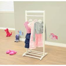 Pink Coat Rack Home Craft Kids' Clothes Rack White Walmart 73