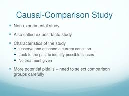 Causal Comparative Study Ppt Experimental Vs Causal Comparative Studies Powerpoint