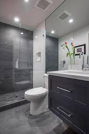 simple bathroom designs grey.  Bathroom Elegant Grey Modern Bathroom Design Best 25 Small Bathrooms Ideas On  Pinterest Simple Designs Y