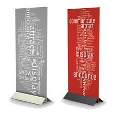 Free Standing Display Boards For Trade Shows Sign Holders and Stands for Trade Shows AFrame Signs 99