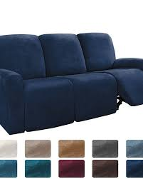 sectional recliner sofa slipcover 1 set