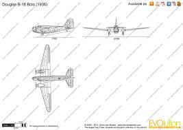Bolo Template Douglas B 18 Bolo Vector Drawing
