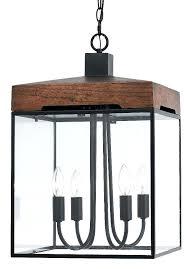 4 pendant light bronze metal wood glass pendant light 4