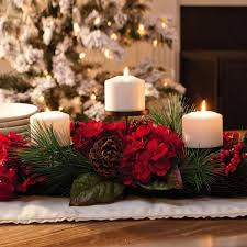 Fabulous christmas decoration ideas using candles Wedding Here Is Trident Of Brass Candle Holder To Help You Complete The Dinner Table This Holder Would Look Perfect With The Added Decoration Of Wreath Christmas Fabulous Christmas Candle Holder Ideas Christmas Celebration All