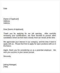 thank you letter after application 40 sample interview thank you letters