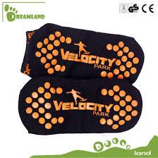 Sky Zone Sock Size Chart China Free Sample Wholesale Grip Trampoline Socks Non Slip