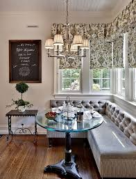 Image Leather Like Eating Breakfast At French Bistro In Your Own Kitchen Traditional Kitchen Breakfast Nook Leslie Robert Fischer Team Wwwrobertjfischercom Pinterest 22 Stunning Breakfast Nook Furniture Ideas Home Design Ideas