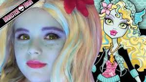 you lagoona blue monster high doll costume makeup tutorial for kittiesmama oct 14th 2016 11 10pm pst