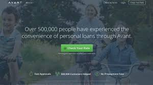 Acceptance Now Payment Chart Avant Personal Loans 2019 Review Bankrate