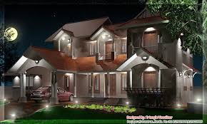 traditional style kerala home design at