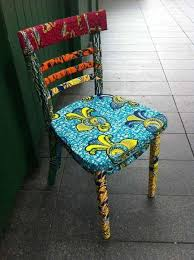 african fabric chair i would have only cushion upholstered