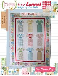 Millie's Dresses Downloadable PDF Quilt Pattern Bee in my Bonnet ... & Millie's Dresses Downloadable PDF Quilt Pattern Bee in My Bonnet Adamdwight.com