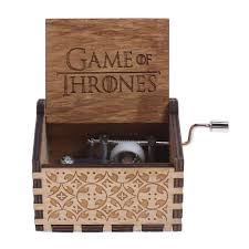 Engraved Wooden Music Box Game Of Thrones GAME OF THRONES Music Box Engraved Wooden Music Box Crafts Kid 61