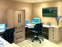 two desk office. Two Person Office Desk Layout N 2