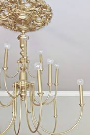33 cool diy chandelier makeovers to transform any room diy joy throughout brass chandelier makeover